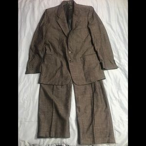 GIVENCHY PARIS NAVY WOOL SUIT
